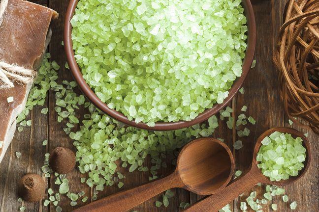 le thé vert gommage au sucre recette