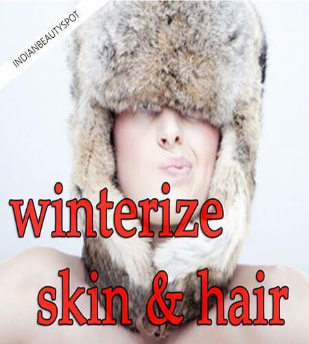 Fotografía - Hivérisez peau et les cheveux naturellement
