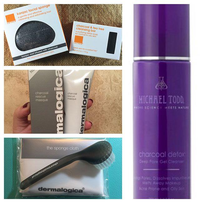 Charcoal Skincare Produits